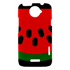 Watermelon Melon Seeds Produce HTC One X Hardshell Case