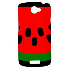 Watermelon Melon Seeds Produce HTC One S Hardshell Case