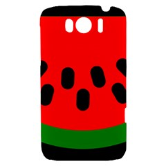 Watermelon Melon Seeds Produce HTC Sensation XL Hardshell Case