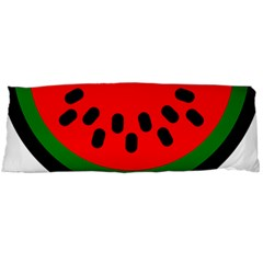 Watermelon Melon Seeds Produce Body Pillow Case Dakimakura (Two Sides)