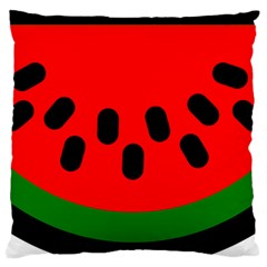 Watermelon Melon Seeds Produce Large Cushion Case (Two Sides)