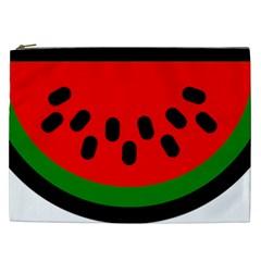 Watermelon Melon Seeds Produce Cosmetic Bag (XXL)