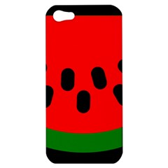 Watermelon Melon Seeds Produce Apple iPhone 5 Hardshell Case