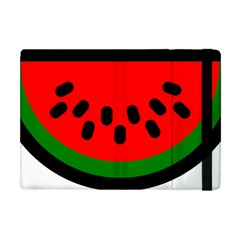 Watermelon Melon Seeds Produce Apple iPad Mini Flip Case