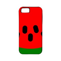 Watermelon Melon Seeds Produce Apple iPhone 5 Classic Hardshell Case (PC+Silicone)