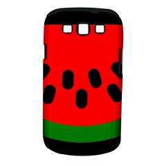 Watermelon Melon Seeds Produce Samsung Galaxy S III Classic Hardshell Case (PC+Silicone)