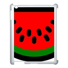Watermelon Melon Seeds Produce Apple iPad 3/4 Case (White)