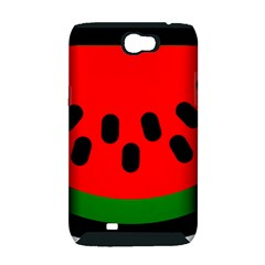Watermelon Melon Seeds Produce Samsung Galaxy Note 2 Hardshell Case (PC+Silicone)