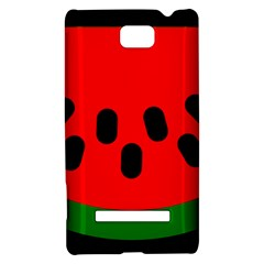 Watermelon Melon Seeds Produce HTC 8S Hardshell Case