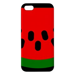 Watermelon Melon Seeds Produce Apple iPhone 5 Premium Hardshell Case