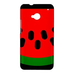 Watermelon Melon Seeds Produce HTC One M7 Hardshell Case