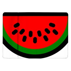 Watermelon Melon Seeds Produce Samsung Galaxy Tab 10.1  P7500 Flip Case