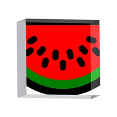 Watermelon Melon Seeds Produce 4 x 4  Acrylic Photo Blocks