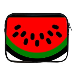 Watermelon Melon Seeds Produce Apple iPad 2/3/4 Zipper Cases