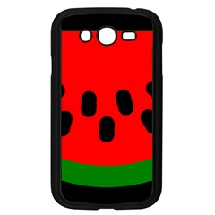 Watermelon Melon Seeds Produce Samsung Galaxy Grand DUOS I9082 Case (Black)