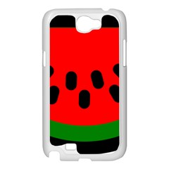 Watermelon Melon Seeds Produce Samsung Galaxy Note 2 Case (White)