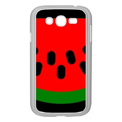 Watermelon Melon Seeds Produce Samsung Galaxy Grand DUOS I9082 Case (White)