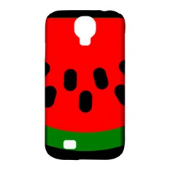 Watermelon Melon Seeds Produce Samsung Galaxy S4 Classic Hardshell Case (PC+Silicone)