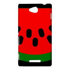 Watermelon Melon Seeds Produce Sony Xperia C (S39H)