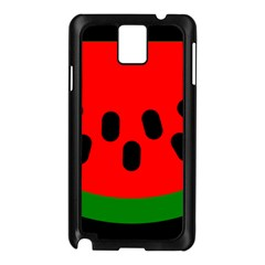 Watermelon Melon Seeds Produce Samsung Galaxy Note 3 N9005 Case (Black)