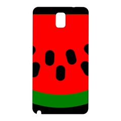 Watermelon Melon Seeds Produce Samsung Galaxy Note 3 N9005 Hardshell Back Case