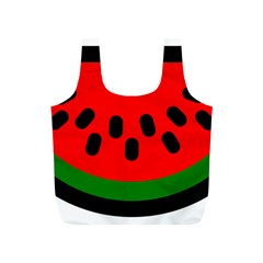 Watermelon Melon Seeds Produce Full Print Recycle Bags (S)