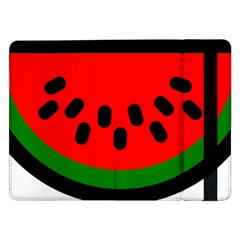 Watermelon Melon Seeds Produce Samsung Galaxy Tab Pro 12.2  Flip Case