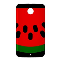 Watermelon Melon Seeds Produce Nexus 6 Case (White)