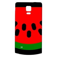 Watermelon Melon Seeds Produce Galaxy Note 4 Back Case