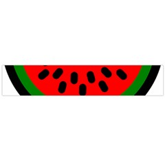 Watermelon Melon Seeds Produce Flano Scarf (Large)