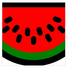 Watermelon Melon Seeds Produce Large Satin Scarf (Square)