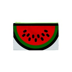 Watermelon Melon Seeds Produce Cosmetic Bag (XS)