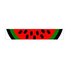Watermelon Melon Seeds Produce Flano Scarf (Mini)