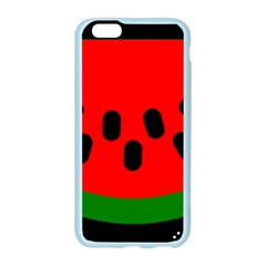Watermelon Melon Seeds Produce Apple Seamless iPhone 6/6S Case (Color)