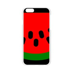 Watermelon Melon Seeds Produce Apple Seamless iPhone 6/6S Case (Transparent)