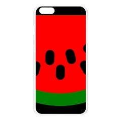 Watermelon Melon Seeds Produce Apple Seamless iPhone 6 Plus/6S Plus Case (Transparent)