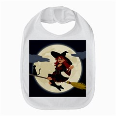 Witch Witchcraft Broomstick Broom Bib