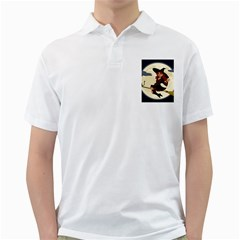 Witch Witchcraft Broomstick Broom Golf Shirts