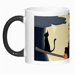 Witch Witchcraft Broomstick Broom Morph Mugs