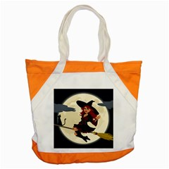Witch Witchcraft Broomstick Broom Accent Tote Bag