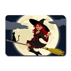 Witch Witchcraft Broomstick Broom Small Doormat