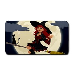 Witch Witchcraft Broomstick Broom Medium Bar Mats