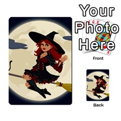 Witch Witchcraft Broomstick Broom Multi-purpose Cards (Rectangle)