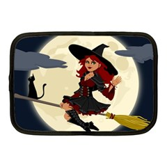 Witch Witchcraft Broomstick Broom Netbook Case (Medium)
