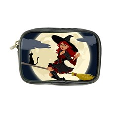 Witch Witchcraft Broomstick Broom Coin Purse
