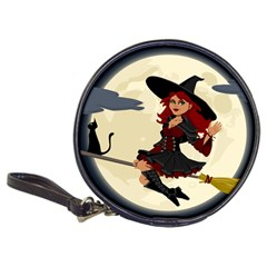 Witch Witchcraft Broomstick Broom Classic 20-CD Wallets