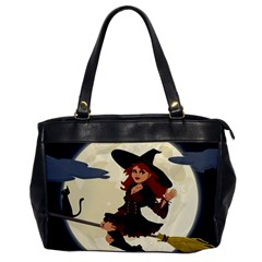 Witch Witchcraft Broomstick Broom Office Handbags