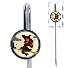 Witch Witchcraft Broomstick Broom Book Mark