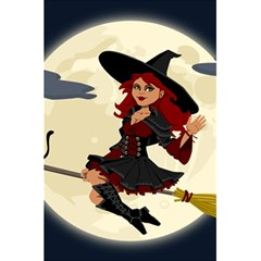 Witch Witchcraft Broomstick Broom 5.5  x 8.5  Notebooks
