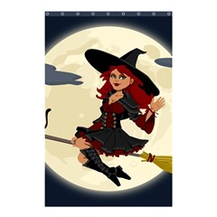 Witch Witchcraft Broomstick Broom Shower Curtain 48  x 72  (Small)